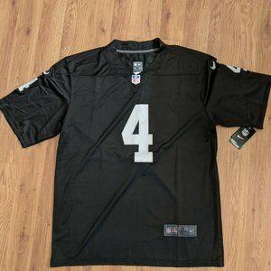 Derek Carr Las Vegas Black Vapor jersey